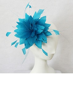 Beautiful Feather With Flower Women's Fascinators (042025108)