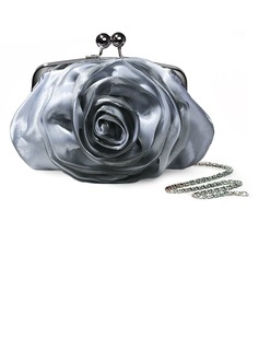 Silver Gorgeous Satin Evening Handbags/ Clutches More Colors Available (012005454)