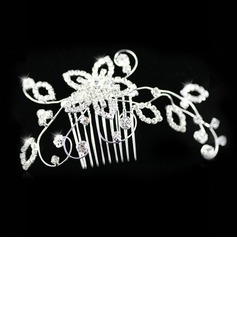 Vacker Rhinestones Wedding Bridal Combs (042012938)