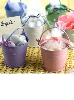 Metal Favor Pail (Set of 12) (050005515)