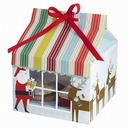 Santa Claus Cupcake Boxes With Ribbons (Set of 12) (050028078)