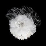 Glamourous Crystal Fascinators/Flowers & Feathers
