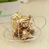 Lovely Favor Boxes/Cupcake Boxes With Ribbons (Set of 12)