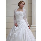 Long Sleeve Tulle Wedding Wrap
