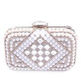 Shining PU With Crystal/ Rhinestone/Imitation Pearl Clutches