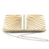 Elegant Polyester with Crystals Evening Handbag/Top Handle Bag(More Colors) (012025161)