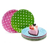 Round Paper Plate (Set of 12)