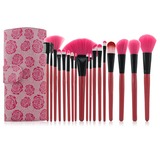 Rose Professional Makeup Brushes (18 Pcs ) (046025390)