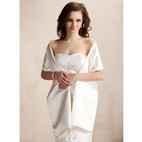 Shawls Wedding Satin Wraps (013020432)