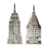 American Skyscrapers Salt & Pepper Shakerss (Set of 2) (051020302)