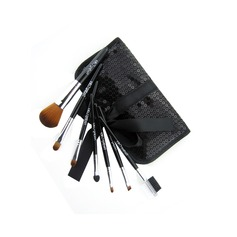 Brand New 7 stk Mini Syntetisk Fiber Starter Makeup Brush Kit (046022876)