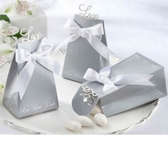Pyramid Favor Boxes With Ribbons Set of 12 (050024977)