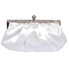 Gorgeous Matte Silk Evening Bag Handbag Purse Clutch More Colors Available (012025494)