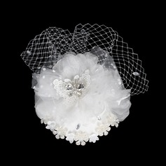 Glamourous Crystal Fascinators Flowers