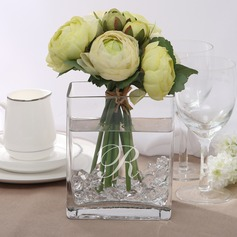 Personalized Cuboid Glass Vases
