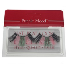1 Pair Mix Color Shimmer Cannetille Style False Eyelashes CFE452