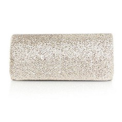 Silk elegante com brilho Sequins Evening Handbag / Embreagens (mais cores) (012016324)