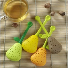 Perfect Pear Shaped Silicone Tea Infuser Favor (051024911)