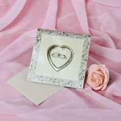 Heart Style Top Fold Invitation Cards (Set of 50)