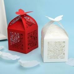 Mooie Bloemen Cut-out Favor Boxes - Set van 12 (meer kleuren) (050024301)