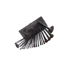 24 Stück schwarz Make-up Pinsel-Set (046022890)