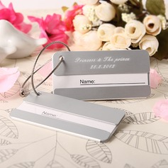 Personalized Simple Stainless Steel Luggage Tag