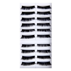 Long, Curved Fashion Lashes With Added Volume 1088# - 10 Pairs Per Box(046005733)