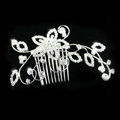 Kaunis Rhinestones Ht Bridal Combs (042012938)