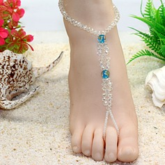 Crystal Foot Jewellery Accessories