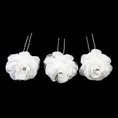 Lovely Satin Flower Girl hiussoljet / Phine (Set of 3) (042024261)