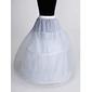 Nylon A-Line Full kappe 2 Tier Floor lengde Slip stil / Wedding Petticoats (037023563)