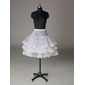 Nylon Half A-Line 3 Tier Short-Length Slip Style/ Wedding Petticoats  (037023570)