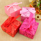Pretty Floral Theme Favor Boxes - Set of 12 (More Colors) (114024110)
