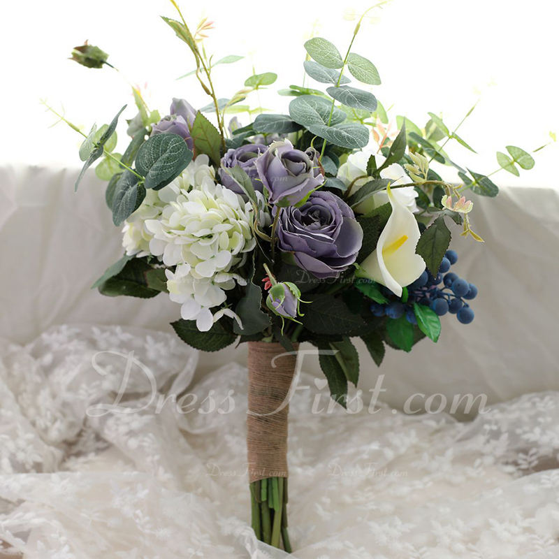 american express card where is the security code  [US$ 8.8] Blooming Free-Form Silk/Cloth Bridesmaid Bouquets - - JJsHouse