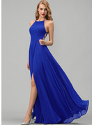 Romantic Sexy Round Neck Sleeveless Maxi Dresses