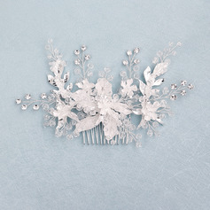 Beautiful Crystal/Alloy Combs & Barrettes With Rhinestone (Sold in single piece)