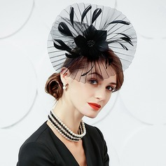 Ladies' Fashion/Elegant/Romantic/Vintage/Artistic Cambric With Feather Fascinators