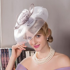 Prachtige Batist Fascinators/Kentucky Derby Hats/Theepartij hoeden