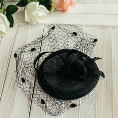 Ladies' Classic/Charming With Flower Fascinators/Beret Hat