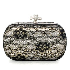 Elegant Satin/Lace Clutches