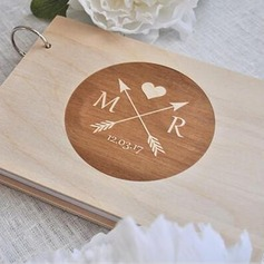 Personalized Wood Guestbook (101203917)