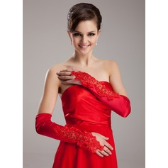 Spandex Opera Length Bridal Gloves