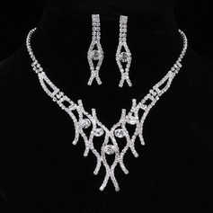 Elegant Alloy/Rhinestones With Rhinestone Ladies' Jewelry Sets