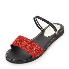 Donna PU Senza tacco Sandalo Ballerine con Altrui scarpe