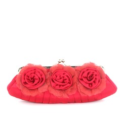 Elegant Satin/Silk Clutches/Wristlets