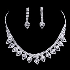 Gorgeous Rhinestones Jewelry Sets