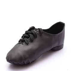 Unisex Real Leather Jazz Dance Shoes