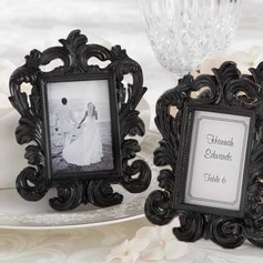 Elegant Resin Place Card Holders/Photo Frames (Set of 6)