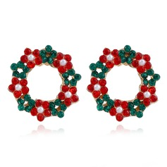 Fashional With Rhinestone Women's Fashion Earrings (Set of 2)