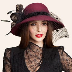 Ladies' Gorgeous Wool Bowler/Cloche Hats/Tea Party Hats (196075338)